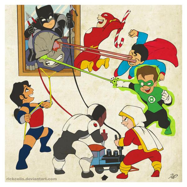 Little League War by RickCelis