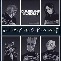 We Are Groot by RickCelis