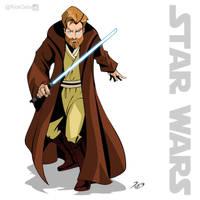 SW 01 - Obiwan Kenobi by RickCelis