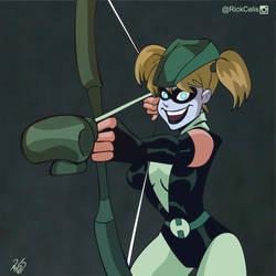 Quinn Arrow by RickCelis