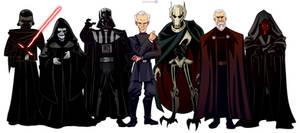 Star Wars Vilains - ep 1-7