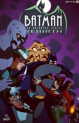 Batman Rebirth 30 BTAS style by RickCelis