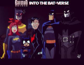 Into the Bat-verse by RickCelis