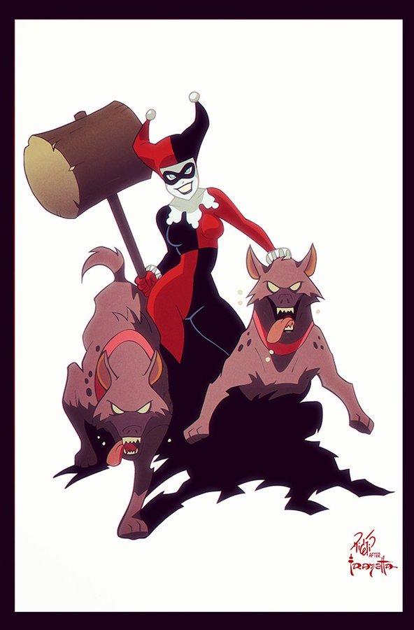 Frazetta Gotham Girls 02 - Harley