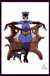 Frazetta Gotham Girls 06 - Catwoman