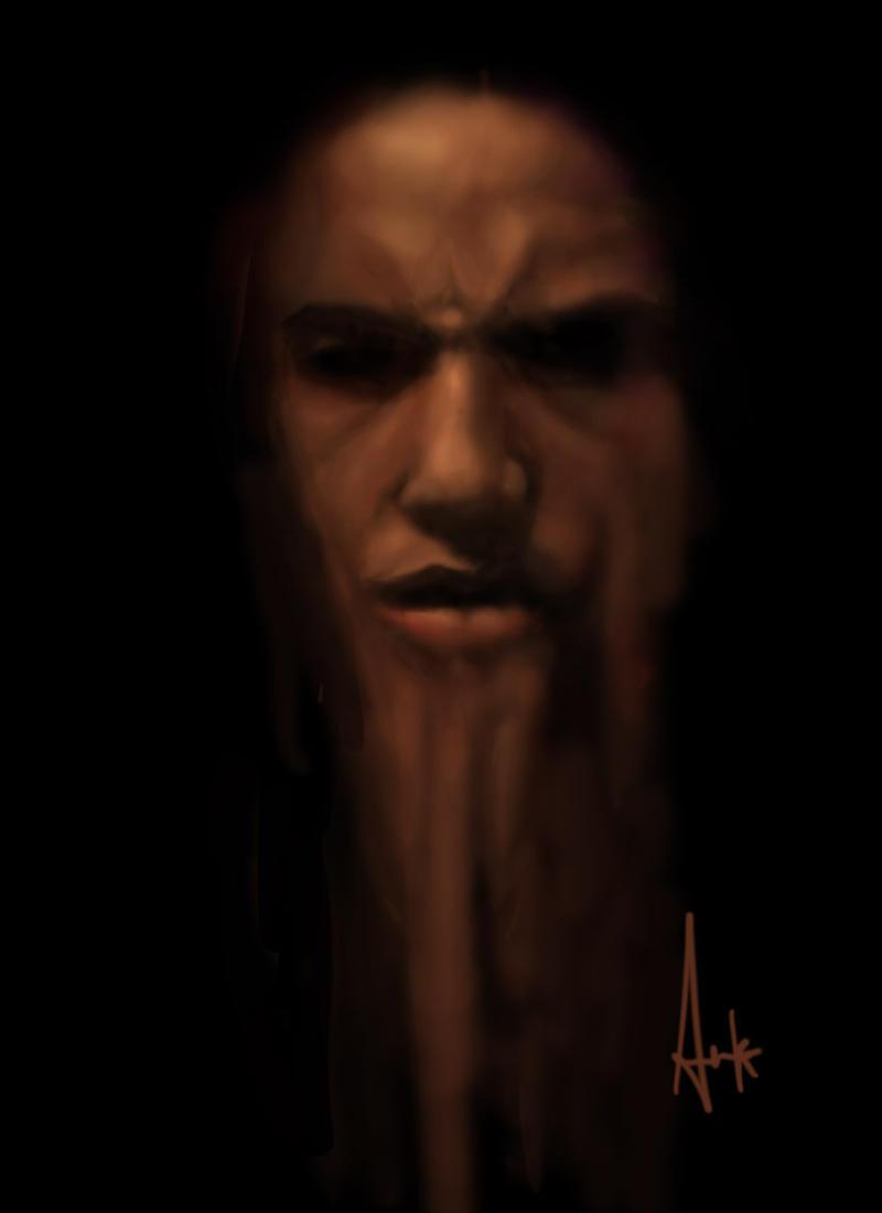 MY FACE FADING OFF by Anka-Atjay