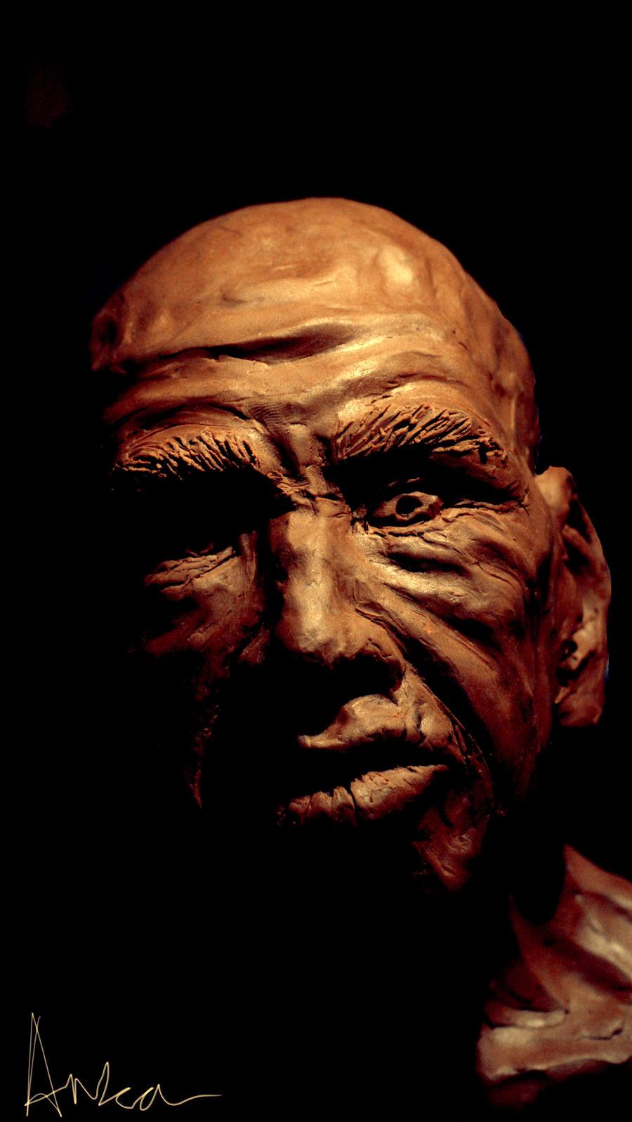 my 80 years old face by Anka-Atjay