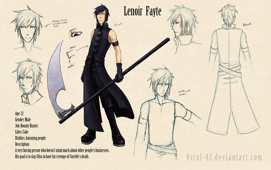 Lenoir Reference Sheet by Viral-42