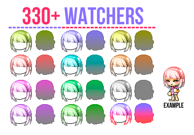 330+ Watchers Giveaway | by phrost-y