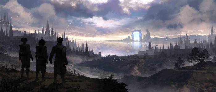 Desolation of a once Flourishing City