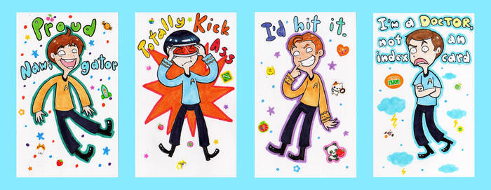 Star Trek Index Card Doodles