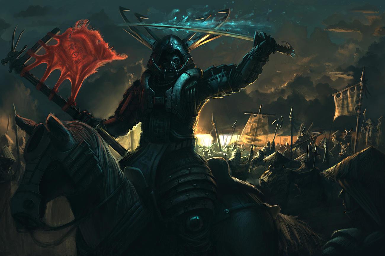 Shen Ku Dark Warlord by arcipello