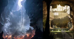 The caves - Bionic Commando