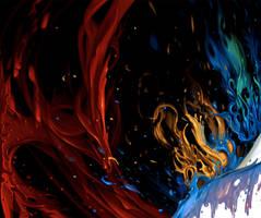 Paint splash by arcipello