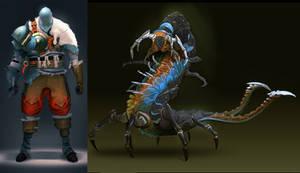 creature concepts by arcipello