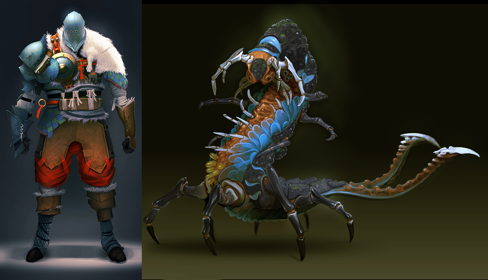 creature concepts by arcipello