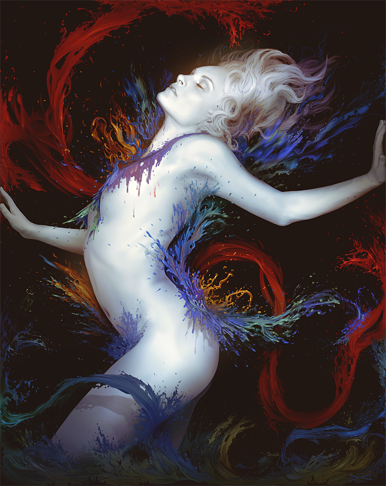 Colours in the Dark by arcipello