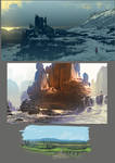 sketchy landscapes