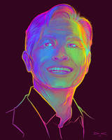 George Takei Portrait and TimeLapse by arcipello