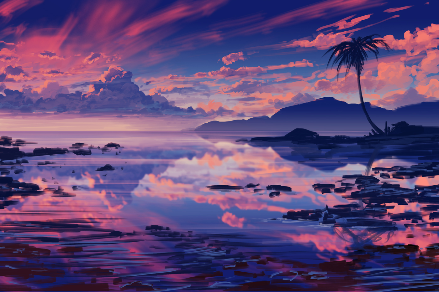 Sunset Sketch Time Lapse Video By Arcipello On Deviantart