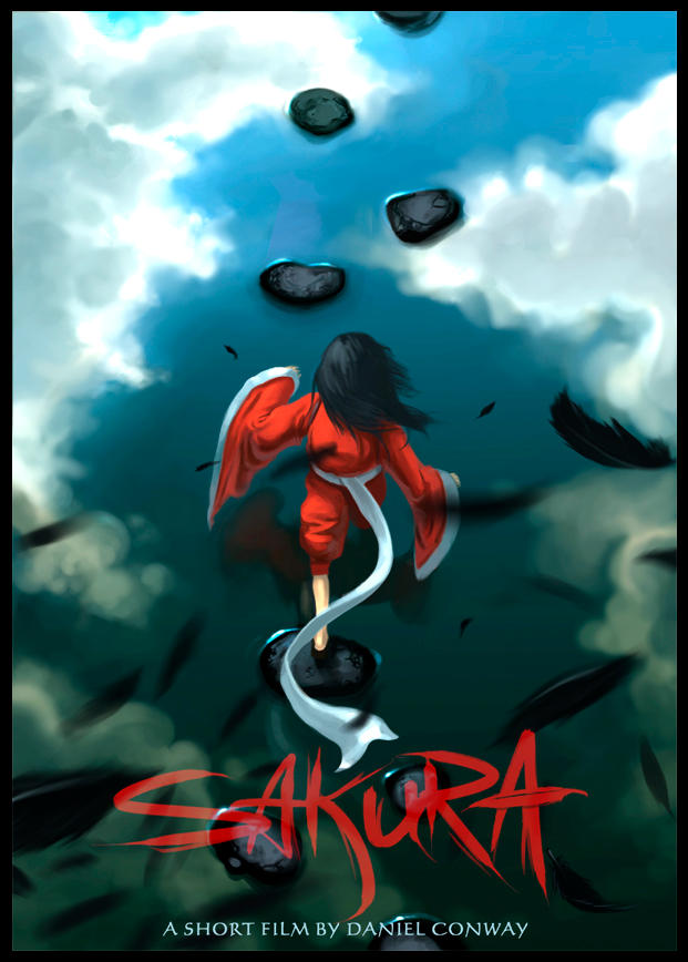 Sakura Poster by arcipello