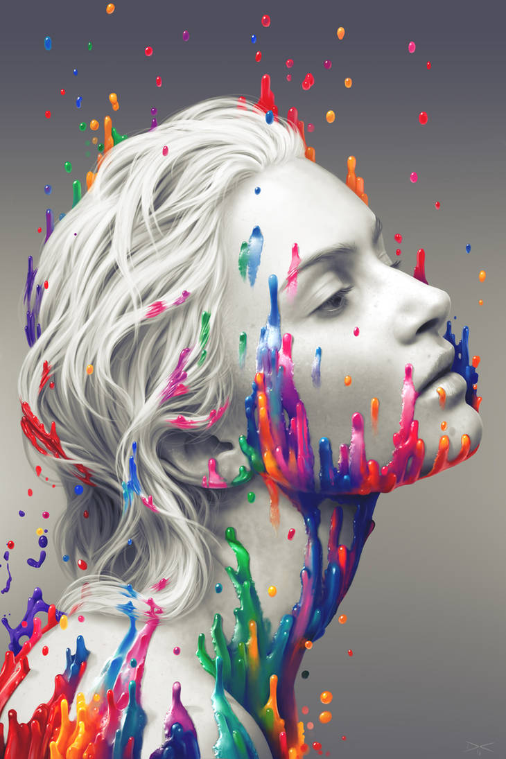 a splash of colour by arcipello