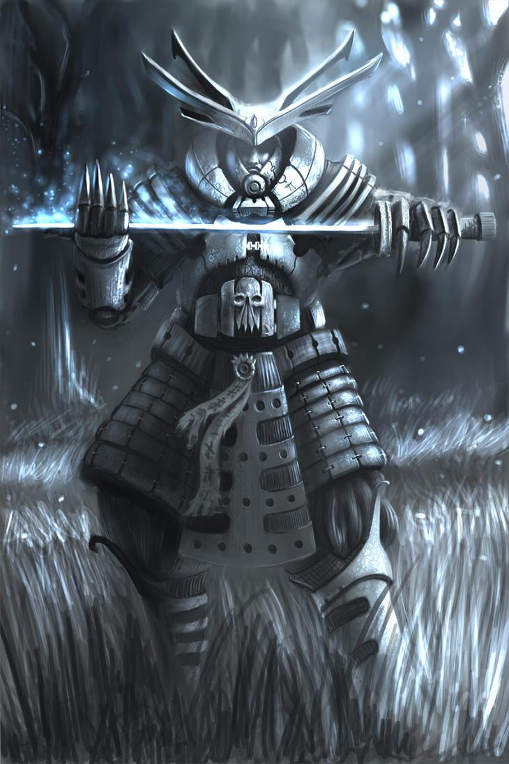 Shen Ku - The Dark Samurai by arcipello