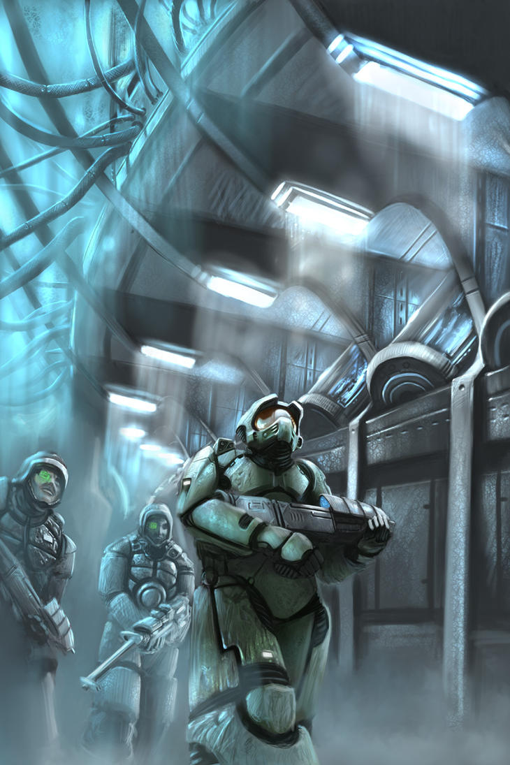 HALO - - Deep Freeze by arcipello
