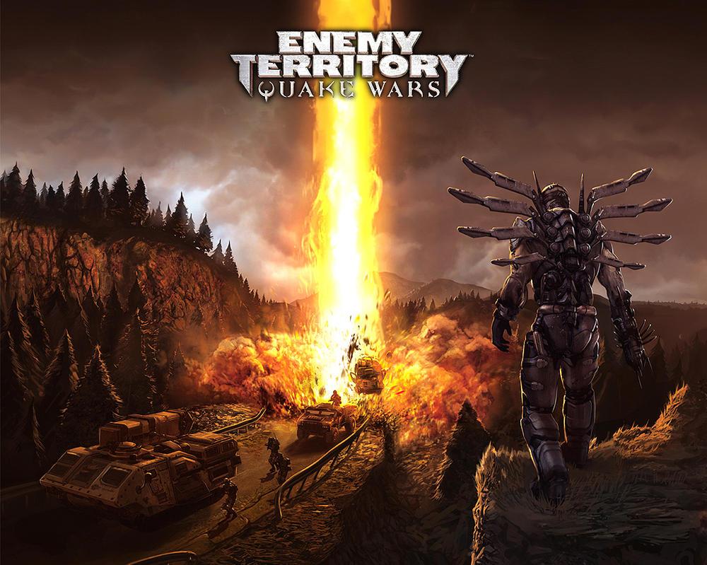 Quake Wars E3 poster by arcipello