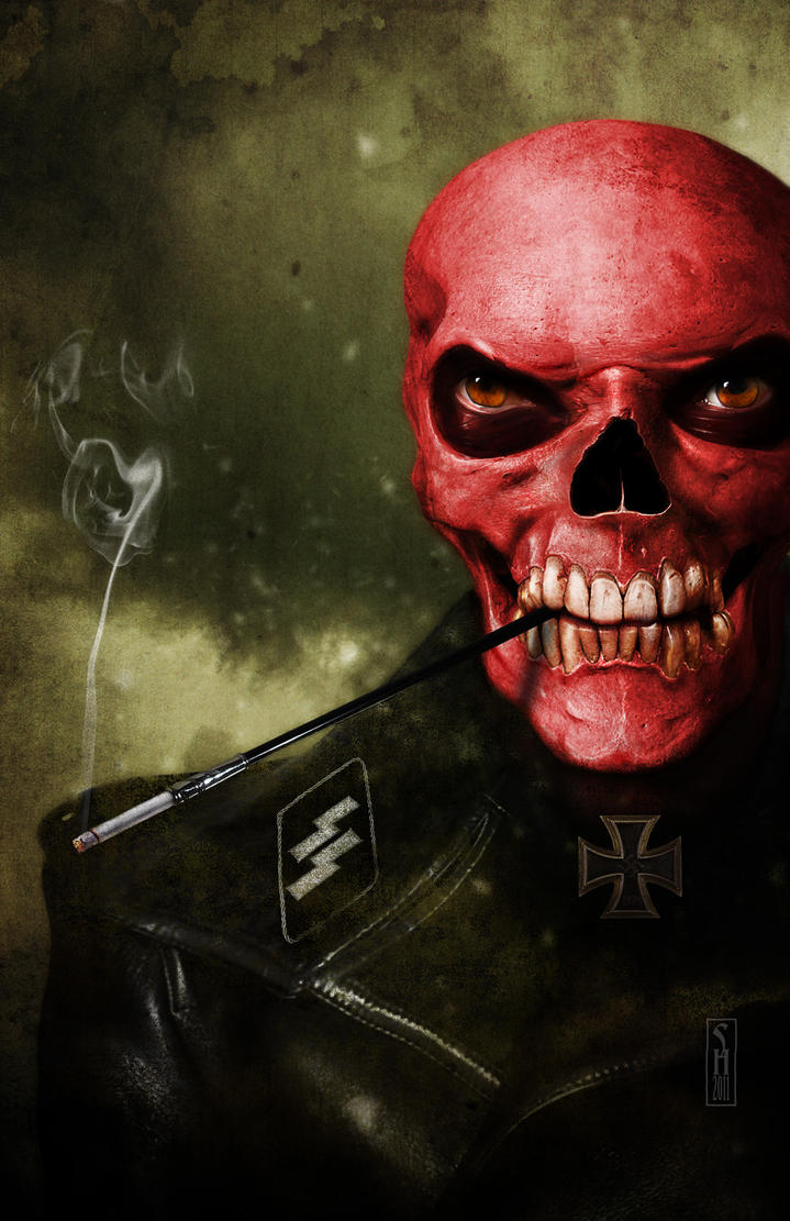 The Red Skull by Harben-Pictures