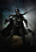 Black Lantern Batman by Harben-Pictures