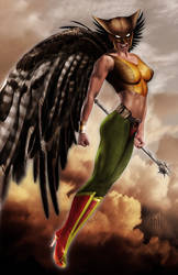 Hawkgirl by Harben-Pictures