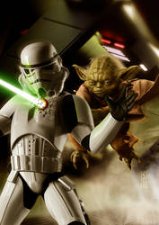 Yoda, Avenger by Harben-Pictures
