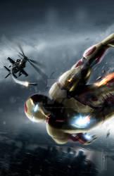 Ironman 3 poster print