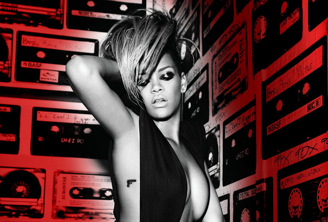 rihanna rated r wallpaperlukasz1214 on deviantart