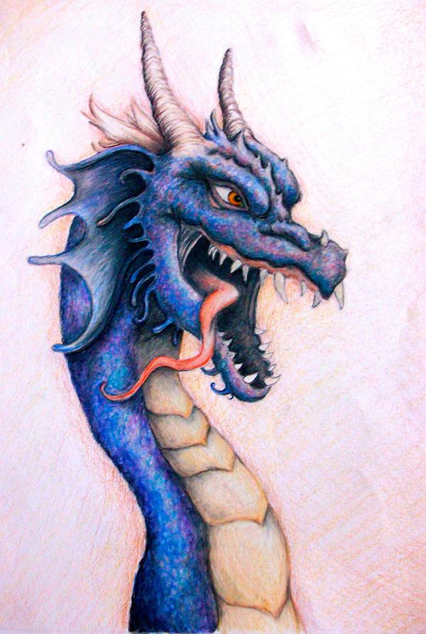 water dragon by Haeddre