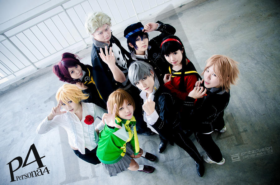 Persona 4 by fritzfusion