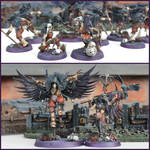Slaves to Darkness Corvus Cabal by kathminiatures