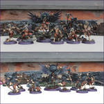 Slaves to Darkness Corvus Cabal Warband by kathminiatures