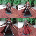 Dark Elf Elite by kathminiatures