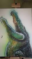Crocodile by Ch4Bi