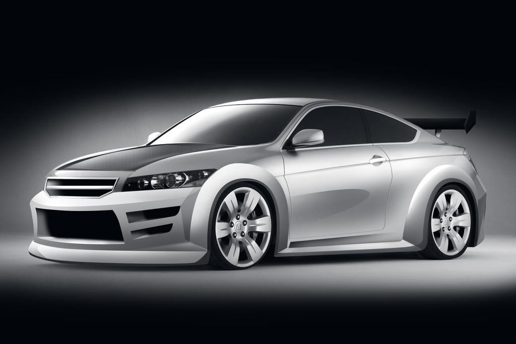 2009 Honda Accord Coupe V6 Accord Coupe Concept Bodykit by dwah on DeviantArt