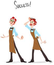 Success! by HarpyMarx