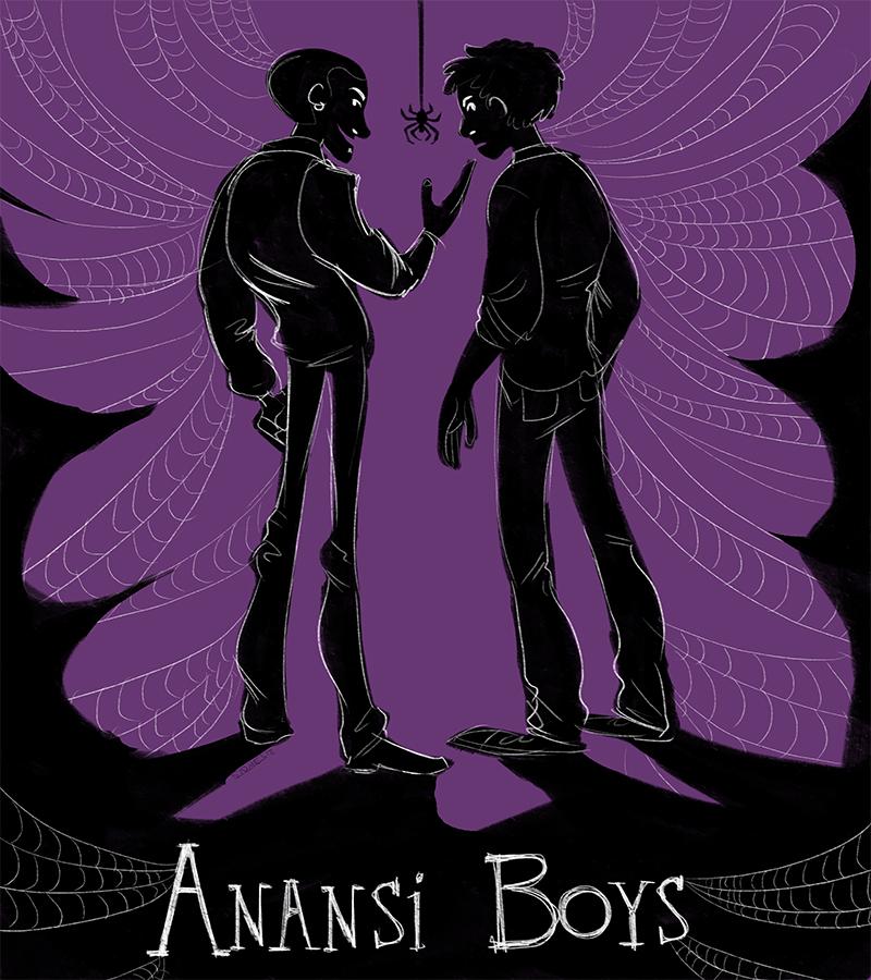 The Anansi Boys by HarpyMarx on DeviantArt
