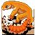 [c] Tangerine Leopard Gecko by preimpression