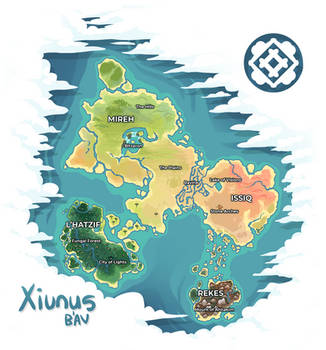 Xiunus - B'Av Map by preimpression