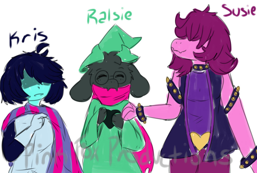 Need a Team Name? (Deltarune Fan Art) by 0PinkFoxProductions