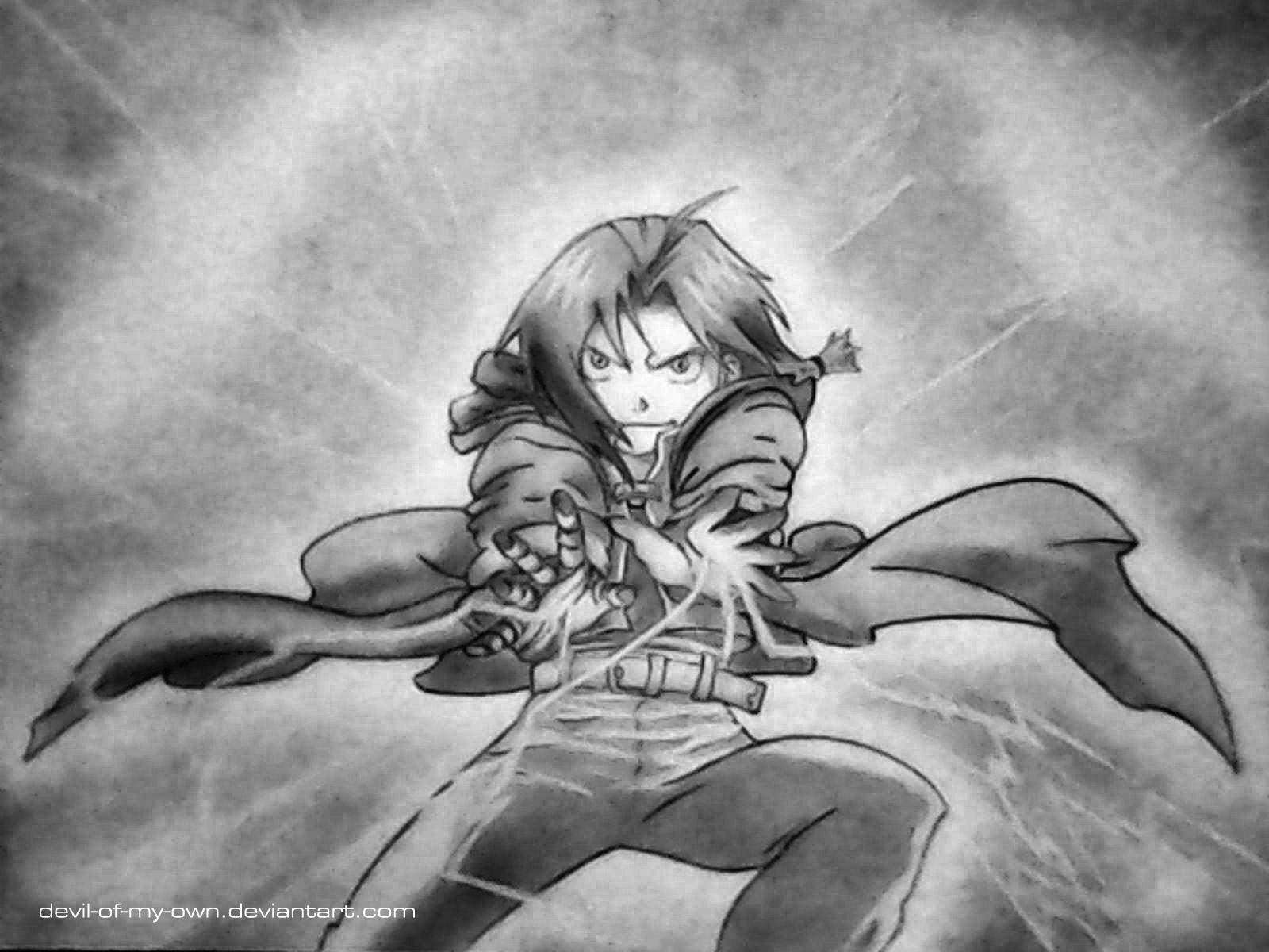 Edward Elric - Full Metal Alchemist by devil-of-my-own