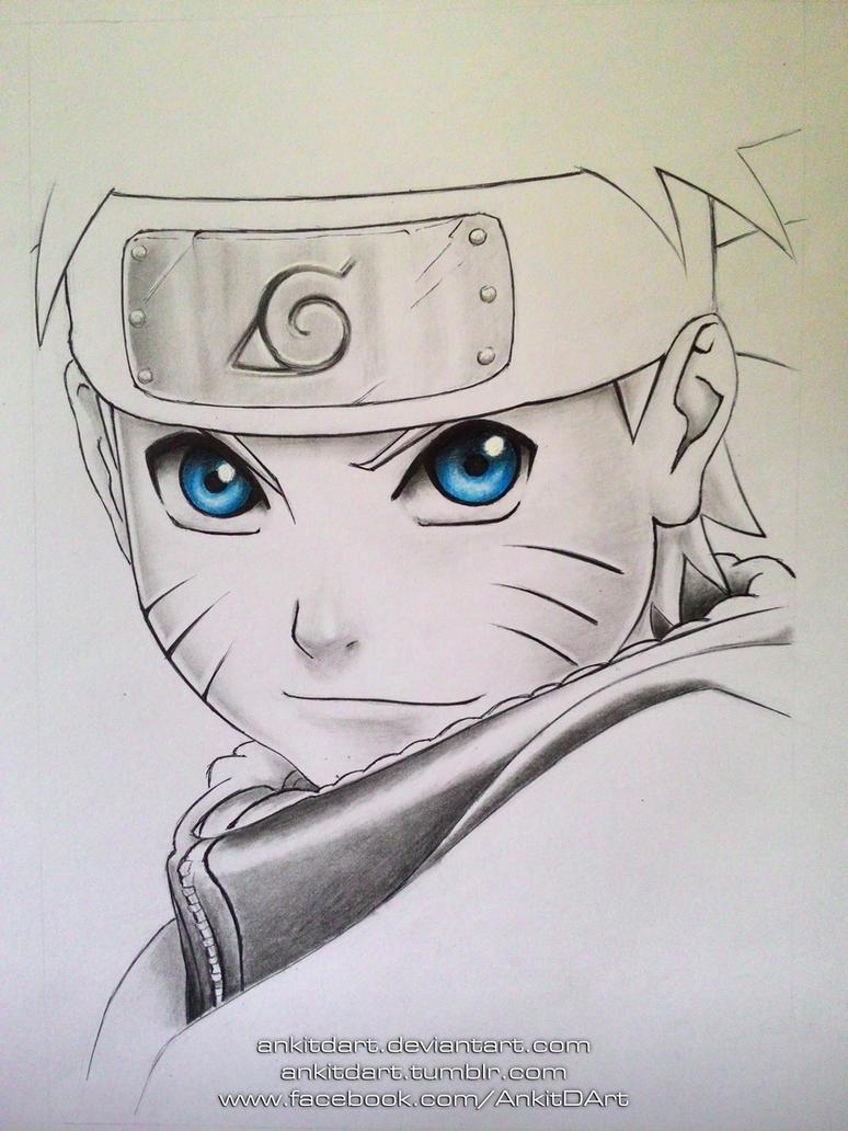 pre#1 Naruto Uzumaki by AnkitDArt