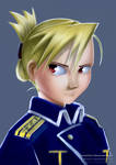 FMA - Riza Hawkeye by Ankredible
